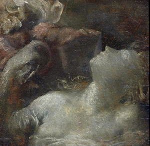 George Frederick Watts - Study for 'Ophelia', c.1870