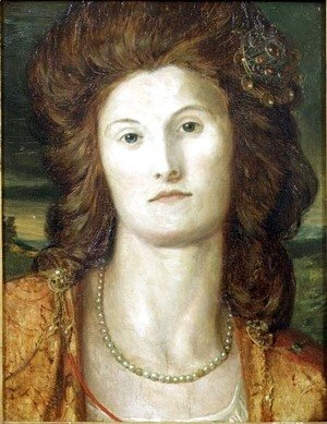 George Frederick Watts - Portrait of Lady Ashburton (d.1857)