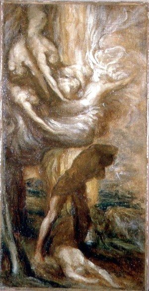 George Frederick Watts - The Curse of Cain