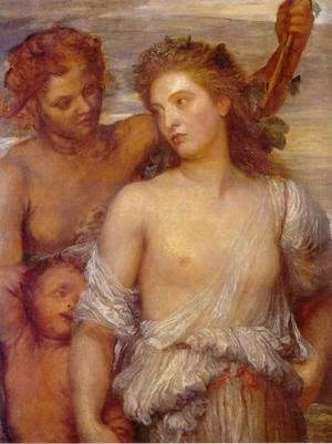 George Frederick Watts - A Bacchante