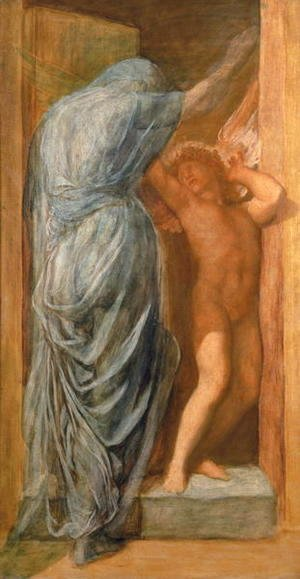 George Frederick Watts - Love and Death 2
