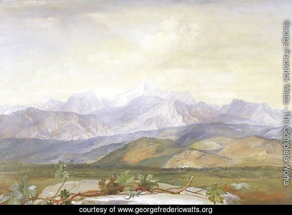 The Carrara Mountains, c.1876-80