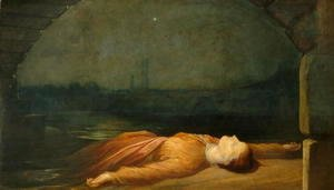 George Frederick Watts - Found Drowned, 1848-50