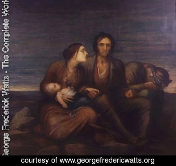 George Frederick Watts - The Irish Famine, 1850
