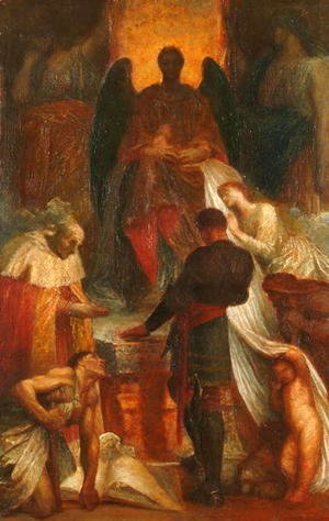 George Frederick Watts - The Court of Death, 1871-1902