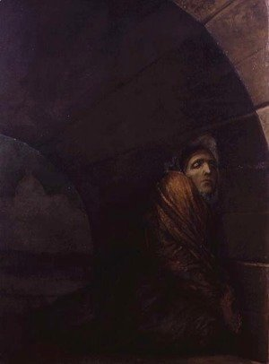 George Frederick Watts - Under a Dry Arch, 1849-50