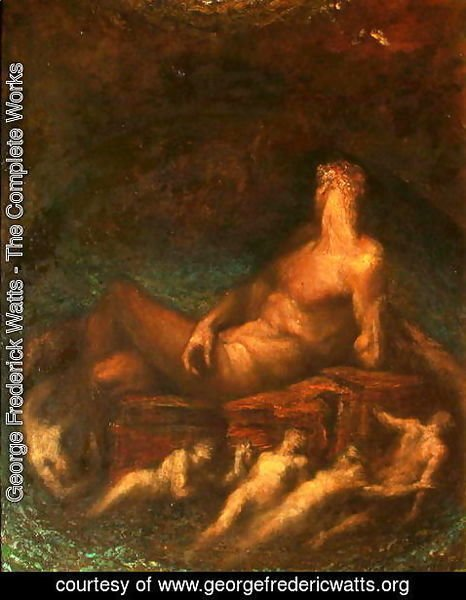 George Frederick Watts - Prometheus, 1904