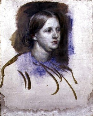 George Frederick Watts - Portrait of Florence Nightingale (1820-1910) 1868