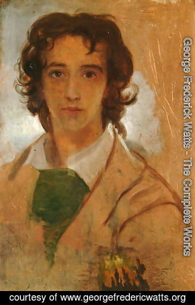 George Frederick Watts - Self Portrait, 1834