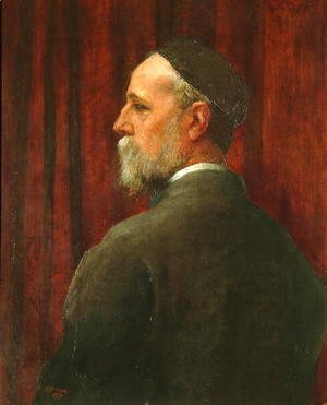 George Frederick Watts - Self Portrait, 1879