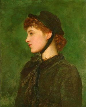 George Frederick Watts - Mrs Langtry, 1879