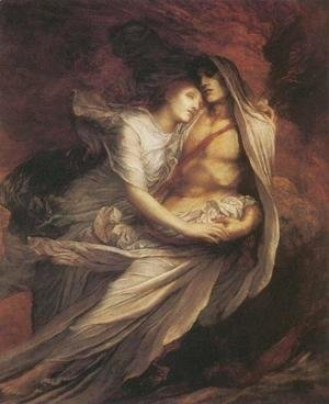 George Frederick Watts - Paolo and Francesca, 1872-75