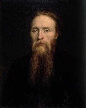 George Frederick Watts - Portrait of Edward Burne-Jones (1833-98), 1870