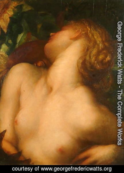 George Frederick Watts - Clytie, late 1860s