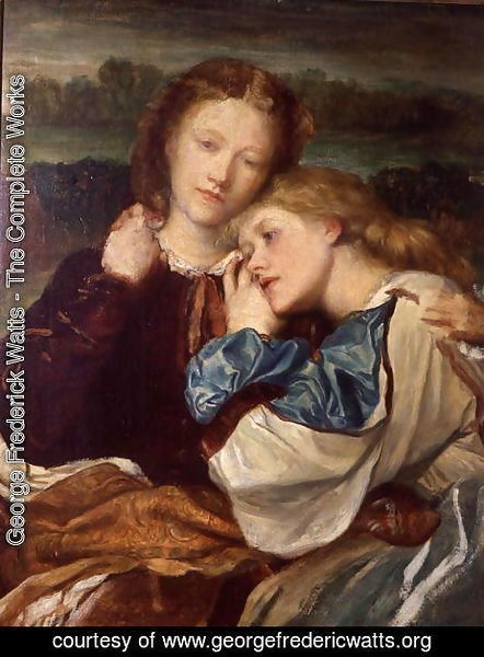George Frederick Watts - The Terry Sisters