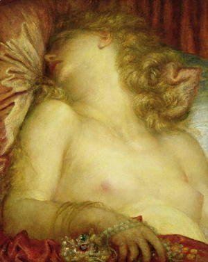George Frederick Watts - The Wife of Plutus, c.1880-89