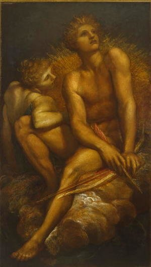 George Frederick Watts - Artemis and Hyperion, c.1881