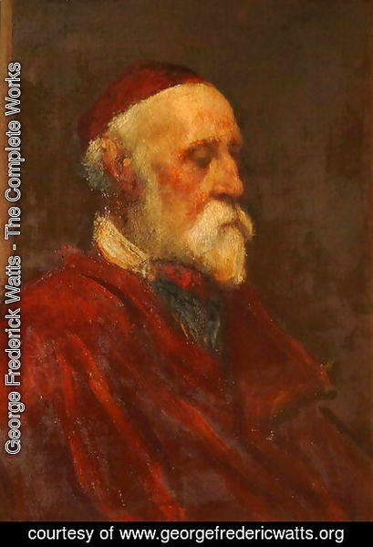 George Frederick Watts - Self Portrait in Old Age, 1887