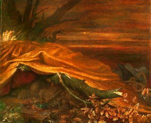 George Frederick Watts - 'Can These Bones Live?'