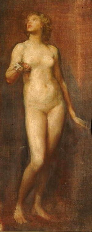 George Frederick Watts - Female Nude, 1874