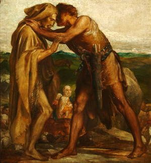 Jacob and Esau, 1878