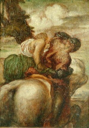 George Frederick Watts - Odoric (1286-1331) and the Witch 2