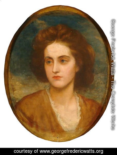 George Frederick Watts - Lady Lilford (d.1930) 1865