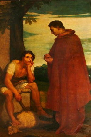 George Frederick Watts - Aristides and the Shepherd