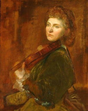 George Frederick Watts - Lady Halle