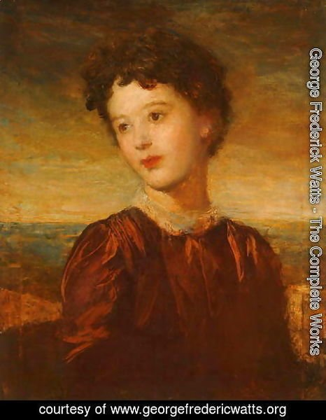George Frederick Watts - Laura Gurney, Lady Troubridge, c.1880