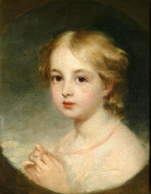 George Frederick Watts - Little Miss Hopkins, 1836