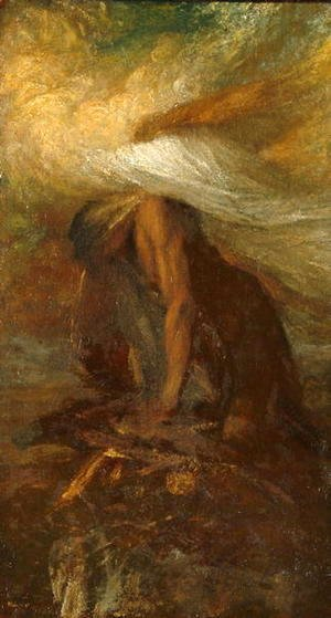 George Frederick Watts - Death of Cain, c.1886