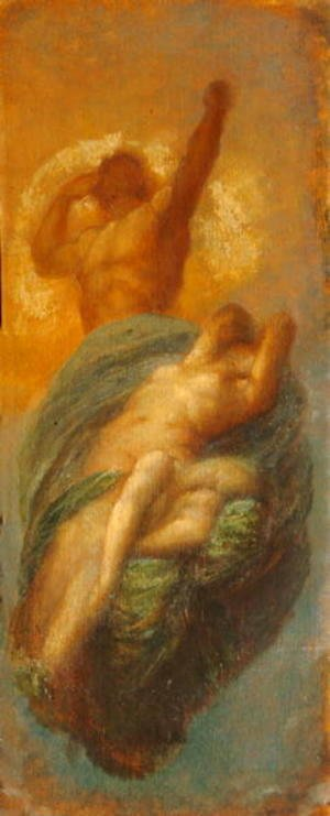 George Frederick Watts - Sun, Earth and their Daughter Moon