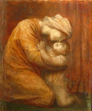 George Frederick Watts - Mother and Child, c.1903