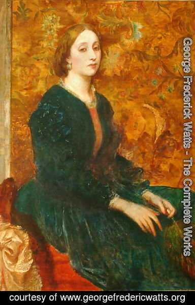 George Frederick Watts - Lady Somers, 1860