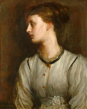 George Frederick Watts - Miss May Princep, c.1869