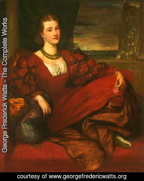 George Frederick Watts - Countess of Kenmare