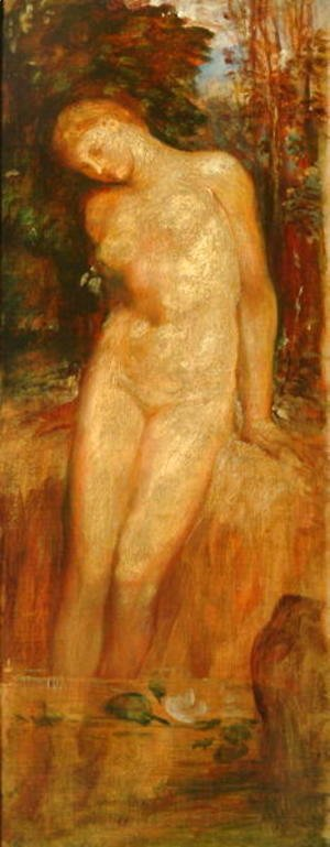 George Frederick Watts - Nude Standing