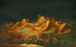 George Frederick Watts - The Titans