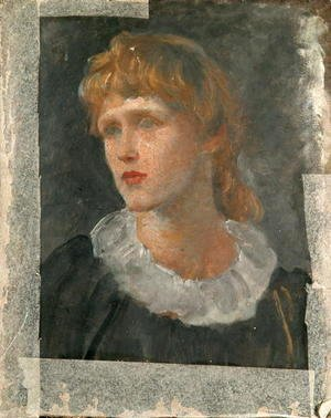 George Frederick Watts - Portrait of a Woman