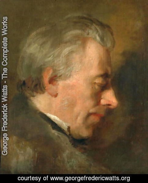 George Frederick Watts - The Artist's Father