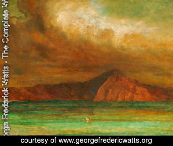 George Frederick Watts - Bay of Naples, 1889