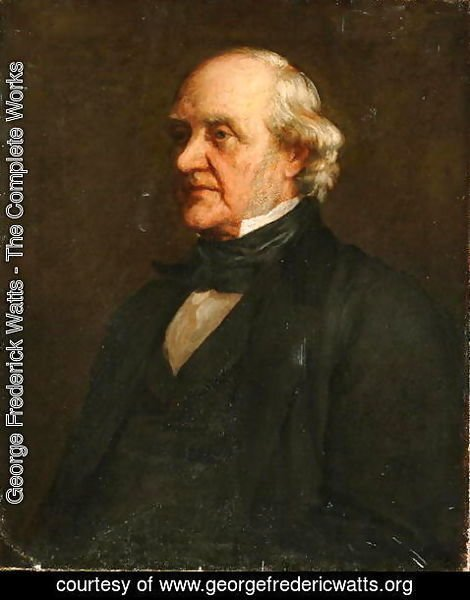 George Frederick Watts - George Peabody (1795-1869) c.1860