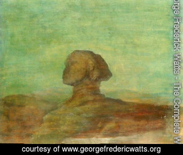 George Frederick Watts - The Sphinx, 1887