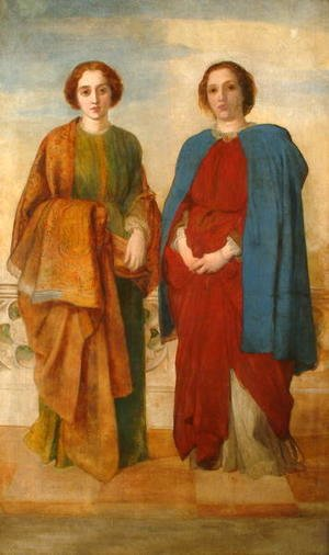 George Frederick Watts - The Sisters, 1856