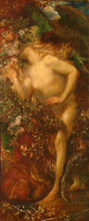 George Frederick Watts - Eve Tempted, 1868