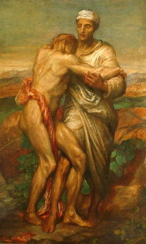 George Frederick Watts - Good Samaritan
