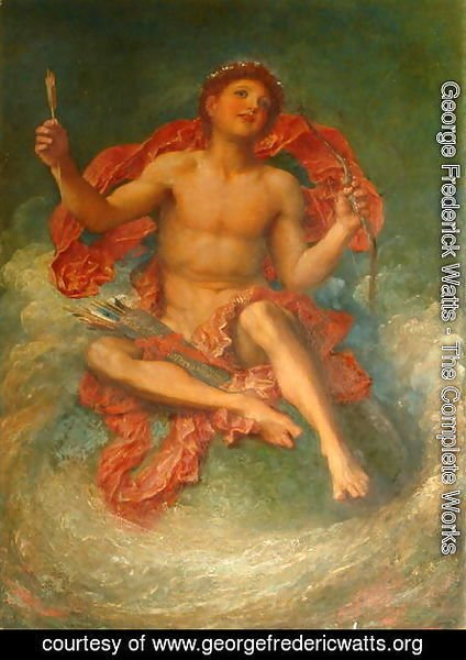 George Frederick Watts - Idle Child of Fancy, 1885