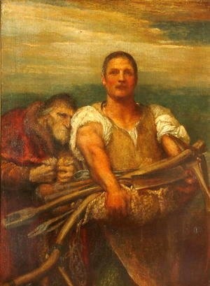 George Frederick Watts - Industry and Greed, 1900
