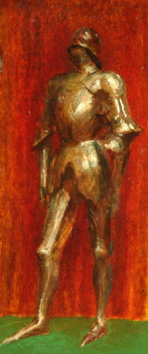 George Frederick Watts - Study of Armour 2
